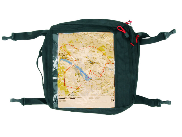 Ally Map Pocket - noir/transparent